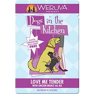 Weruva Dogs in the Kitchen Love Me Tender with Chicken Breast Au Jus Grain-Free Dog Food Pouches, 2.8-oz, case of 12
