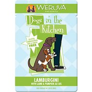 Weruva Dogs in the Kitchen Lamburgini with Lamb & Pumpkin Au Jus Dog Food Pouches, 2.8-oz, case of 12