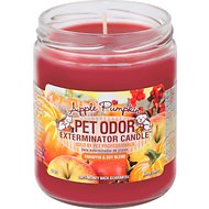 Pet Odor Exterminator Apple Pumpkin Deodorizing Candle, 13-oz jar