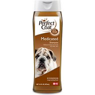 Perfect Coat Medicated Coal Tar Fresh Pine Dog Shampoo, 16-oz bottle