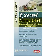 8in1 Excel Allergy Relief Dog Tabs Supplement, 36 count