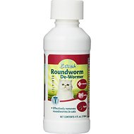 8in1 Excel Roundworm De-Wormer Liquid for Cats, 4-oz bottle