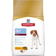 Hill's Science Diet Adult Grain-Free Dry Dog Food, 21-lb bag
