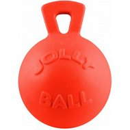 Jolly Pets Tug-n-Toss Dog Toy, Orange, 8-inch