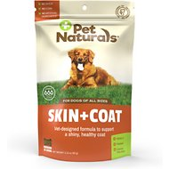 Pet Naturals Skin + Coat Dog Chews