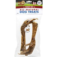 Pet 'n Shape USA All-Natural Chewz Turkey Feet Dog Treats, 2 pack