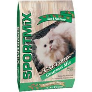 SPORTMiX Gourmet Mix with Chicken, Liver and Fish Flavor Adult Dry Cat Food, 15-lb bag