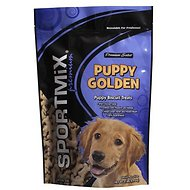SPORTMiX Puppy Golden Biscuit Dog Treats, 2-lb bag