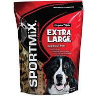 SPORTMiX Extra Large Golden Biscuit Dog Treats, 8-lb bag