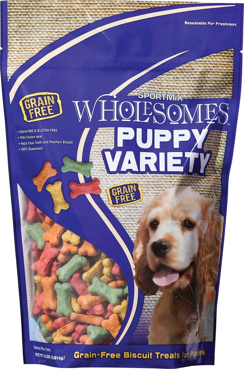 Wholesomes Sportmix Dog Biscuits Grain Free