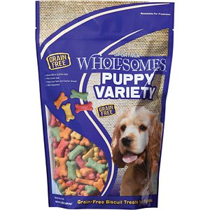 SPORTMiX Wholesomes Puppy Variety Grain-Free Biscuit Dog Treats