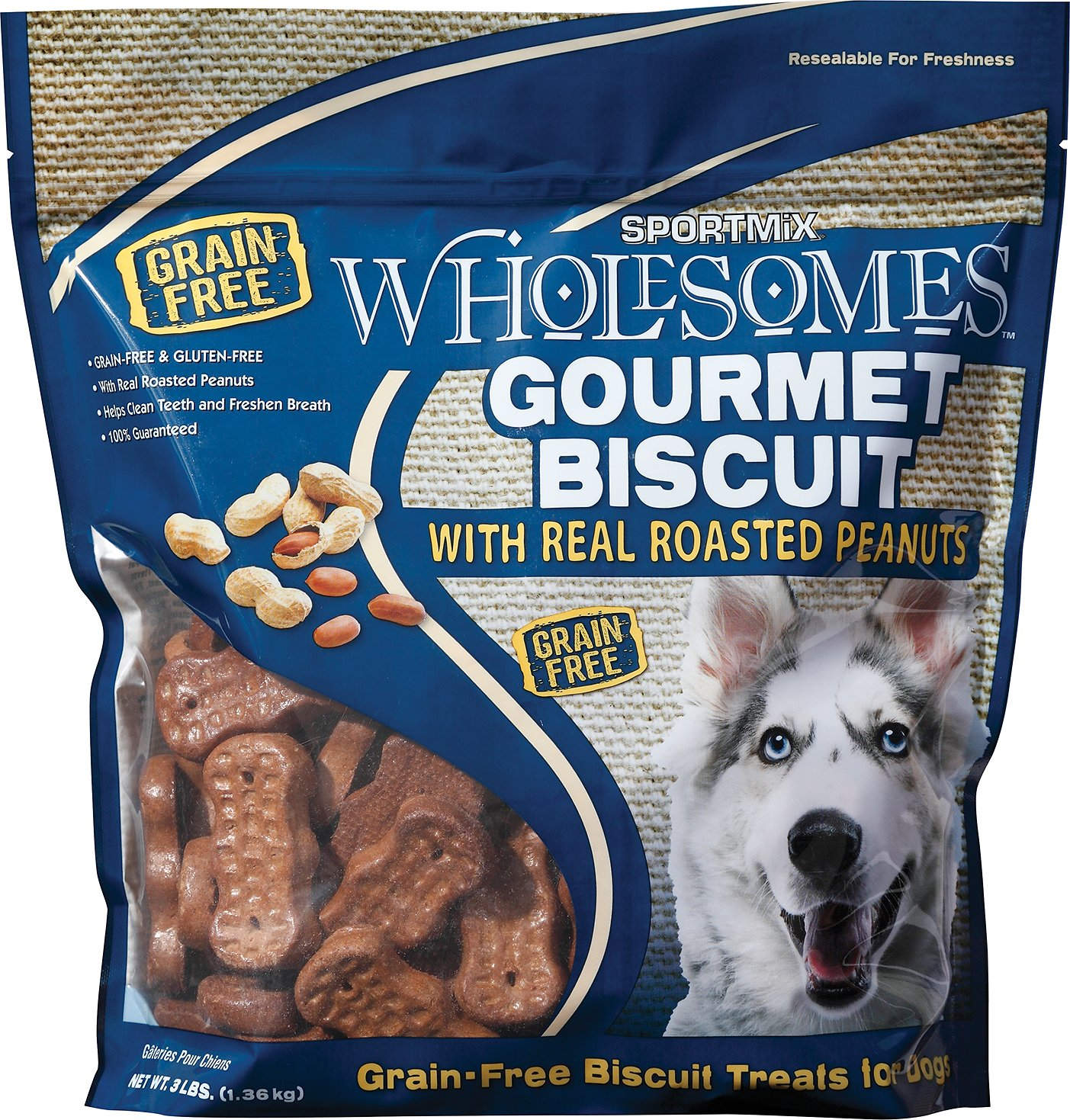 Wholesomes Dog Biscuits Grain Free
