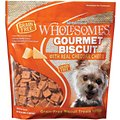 SPORTMiX Wholesomes Gourmet Biscuit with Real Cheddar Cheese Grain-Free Dog Treats