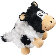 KONG Barnyard Cruncheez Cow Dog Toy, Large