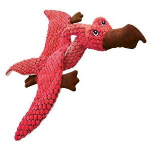 KONG Dynos Pterodactyl Dog Toy, Small