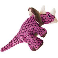 KONG Dynos Triceratops Dog Toy, Large