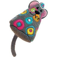 KONG Tropics Mouse Cat Toy, Color Varies