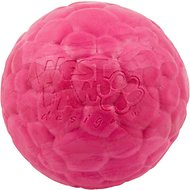 West Paw Zogoflex Air Boz Ball Dog Toy, Currant, Small
