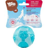 West Paw Design Zogoflex Air Boz Ball Dog Toy, Peacock, Small