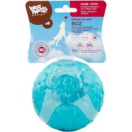 West Paw Zogoflex Air Boz Ball Dog Toy, Peacock, Large