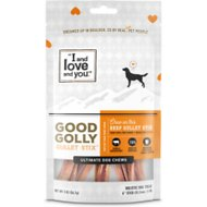I and Love and You Good Golly Gullet Sticks Dog Treats, 6-inch, 2-oz bag