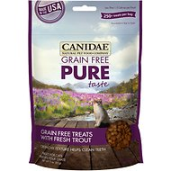 Canidae Grain-Free PURE Taste with Fresh Trout Cat Treats, 3-oz bag