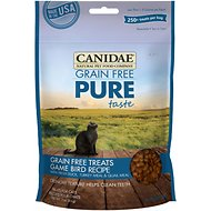 Canidae Grain-Free PURE Taste Game Bird Recipe Cat Treats, 3-oz bag