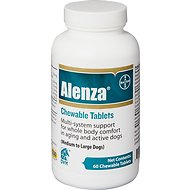 Alenza Chewable Tablets for Multi-System Support for Medium/Large Dogs, 60-count bottle