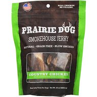 Prairie Dog Smokehouse Jerky Country Chicken Dog Treats, 15-oz bag