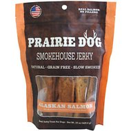 Prairie Dog Smokehouse Jerky Alaskan Salmon Dog Treats, 15-oz bag