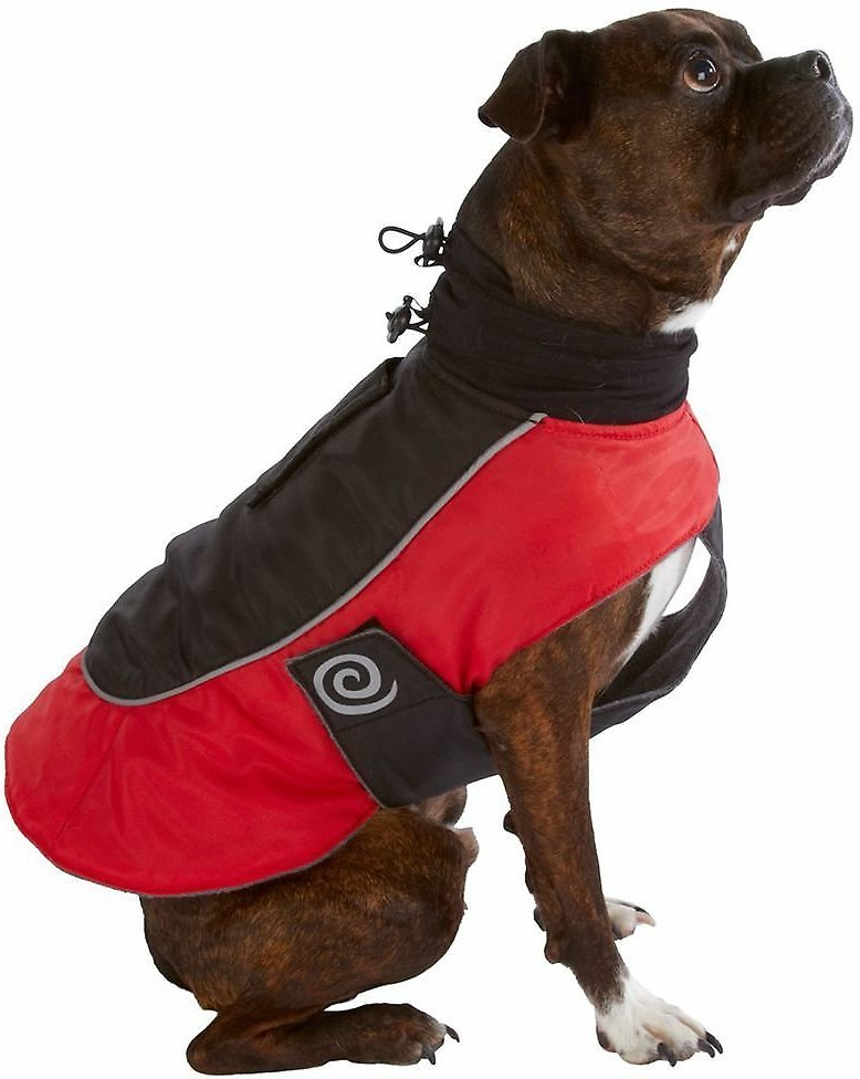 Ultra Paws Fleece Lined Reflective Comfort Coat for Dogs, X-Large ...