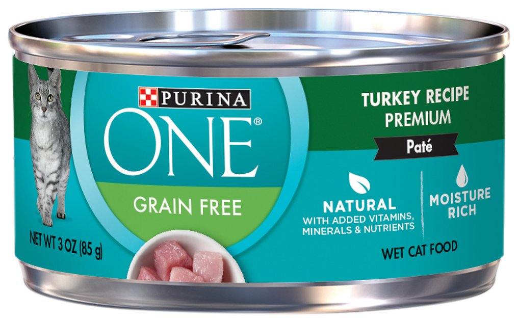 Grain Free Classic Turkey Wet Cat Food Recipe 5/5 Made with real turkey, Grain Free Classic Turkey Recipe delivers protein-rich nutrition and moisture to help promote healthy hydration that cats require for lifelong whole body health.