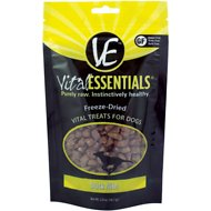 Vital Essentials Duck Nibs Freeze-Dried Dog Treats, 2-oz bag