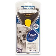 Oster Shedmonster Coat De-Shedding Tool for Dogs, Medium/Long Hair