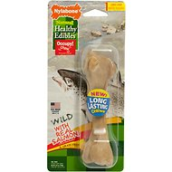 Nylabone Natural Healthy Edibles Wild with Real Salmon Large Dog Treats, 1 count