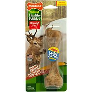Nylabone Natural Healthy Edibles Wild with Real Venison Large Dog Treats, 1 count