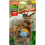 Nylabone Natural Healthy Edibles Wild with Real Venison Small Dog Treats, 8 count