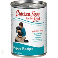 Chicken Soup for the Soul Puppy Canned Dog Food, 13-oz, case of 12