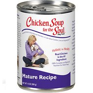 Chicken Soup for the Soul Mature Canned Dog Food, 13-oz, case of 12