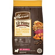 Merrick Lil' Plates Grain-Free Real Chicken + Sweet Potato Recipe Small Breed Dry Dog Food, 12-lb bag