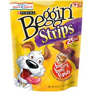 Beggin' Strips Bacon & Beef Flavors Dog Treats, 25-oz bag