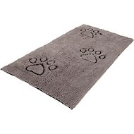 Dog Gone Smart Runner Dirty Dog Doormat, Grey