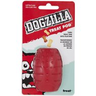 Dogzilla Treat Pod Dog Toy, Small
