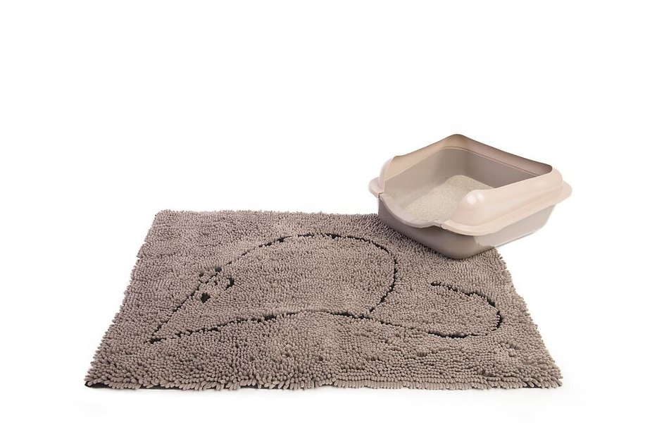 Dog Gone Smart Cat Litter Mat Grey Chewy Com