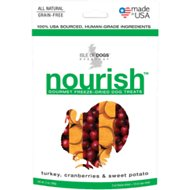 Isle of Dogs Nourish Turkey, Cranberries & Sweet Potato Freeze-Dried Dog Treats, 2-oz bag