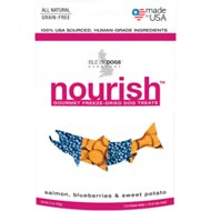 Isle of Dogs Nourish Salmon, Blueberries & Sweet Potato Freeze-Dried Dog Treats, 2-oz bag