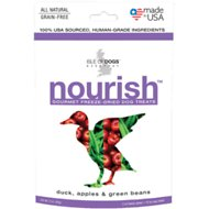 Isle of Dogs Nourish Duck, Apples & Green Beans Freeze-Dried Dog Treats, 2-oz bag