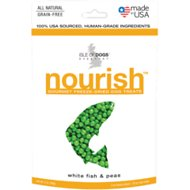 Isle of Dogs Nourish White fish & Peas Freeze-Dried Dog Treats, 2-oz bag