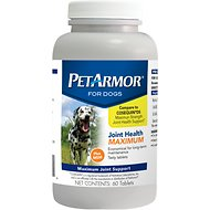 PetArmor Joint Health Maximum Tablets for Dogs, 60-count