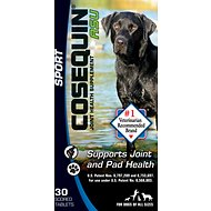 Nutramax Cosequin Tablets ASU Sport Joint and Pad Health Dog Supplement, 30 count